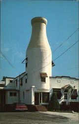 Milk Bottle Office Building, The Asselin Creamery Co.