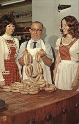 "Bratwurst beauties - ""Bratwurst Capital of America"""