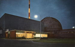 Dresden Atomic Power Station Postcard