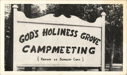 God's Holiness Grove Camp - Entrance