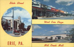 State Street, West Erie Plaza and Mill Creek Mall