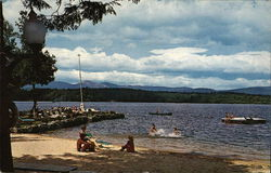 Beach and Point at Quisisana, Lake Kezar