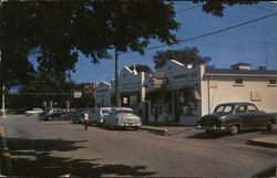 The South Duxbury Shopping Center Postcard