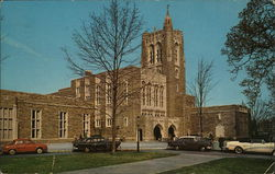 Princeton University - Harvey S. Firestone Memorial Library Postcard