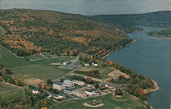 Mascoma Valley & Center of Light LA Salette (Aerial View)