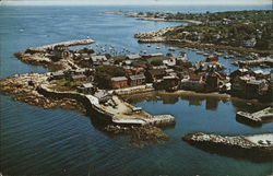 Gull's Eye View of Bearskin Neck and Rockport Harbor
