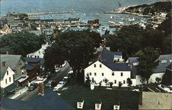 Rockport Harbor From The Old Sloop
