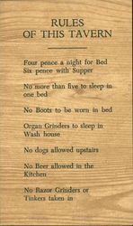 Griswold Inn - Rules of This Tavern