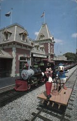 Train Station - Disneyland