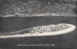 Cedar Island and Clinton Harbor Postcard