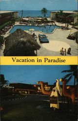Sahara Resort Motel Postcard
