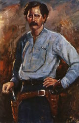 Wyatt Earp by Lea McCarty