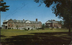Beloit College - Centennial and Maurer Halls Postcard