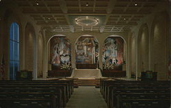 Interior of Saint Barnabas on the Desert Episcopal Church