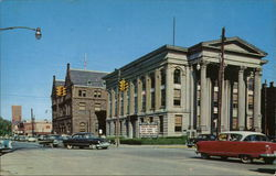Floyd County Court House and United States Post Office Postcard