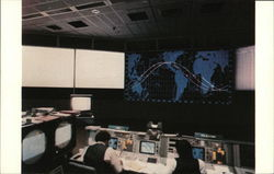 Johnson Space Center - Mission Control