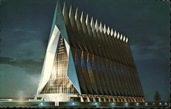 Cadet Chapel at Night