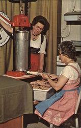 Making Bratwurst