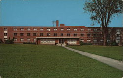 Ashland College - Kate Myers Hall, Girls Dormitory Postcard