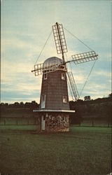 Bob Evans Farms - Old Welsh Windmill Postcard