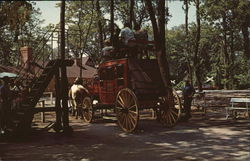 Frontier Town Stagecoach, Cedar Point