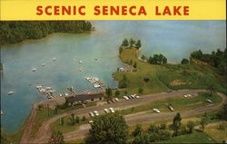 Seneca Lake and Boat Dock