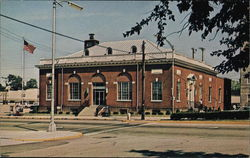 United States Post Office Greenville, OH Postcard