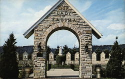 Our Lady of Fatima Shrine - Entrance Arch