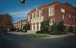 Central Junior High School Postcard