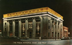 The Piqua National Bank and Trust Company Postcard