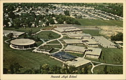 Newark High School Postcard