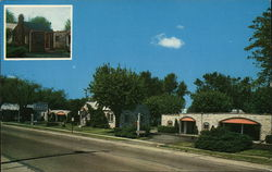 Meyer Court Motel Postcard