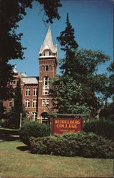 College Hall - Heidelberg College, Founded 1850