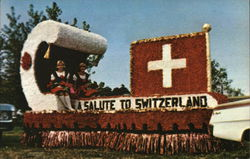 "Ohio Swiss Festival - Float ""Salute to Switzerland"""