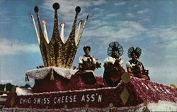 Queen's Float Postcard