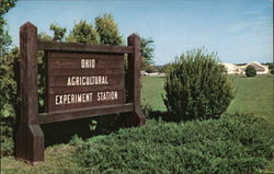 Ohio Agricultural Experiment Station - Entrance Sign