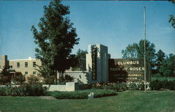 Entrance to Columbus Park of Roses