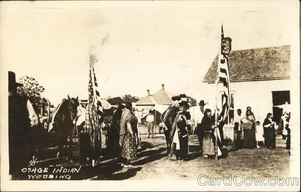 Osage Indian Wedding Native Americana