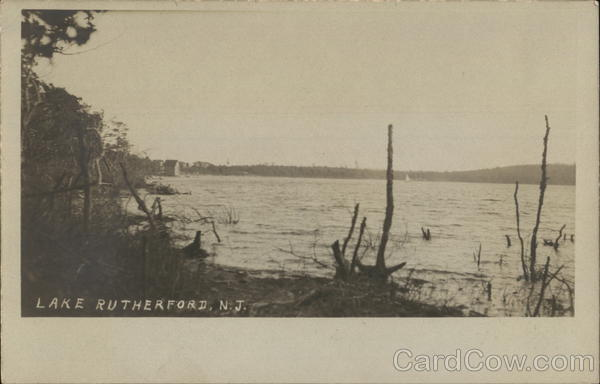 Lake Rutherford Wantage New Jersey