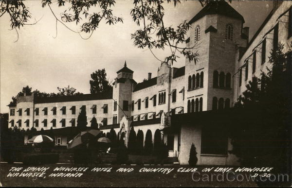 The Spink Wawasee Hotel And Country Club At Lake