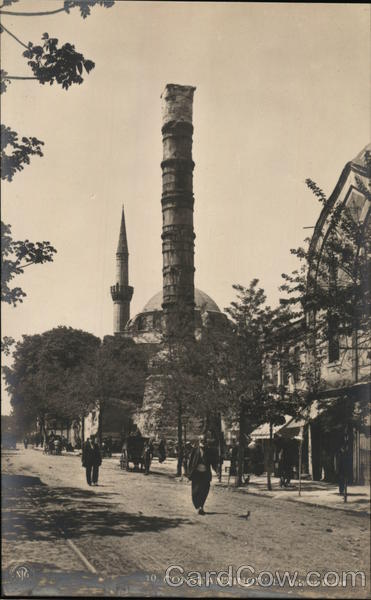 Column of Constantine or Burnt Column Istanbul Turkey