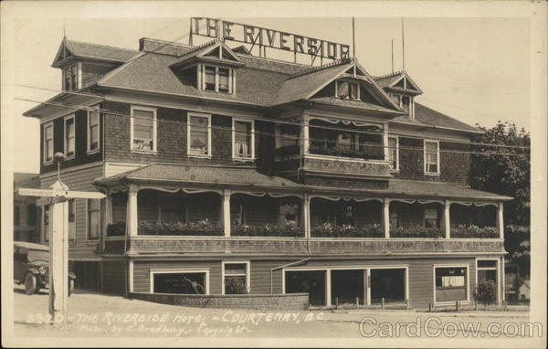 The Riverside Hotel Courtenay Canada British Columbia