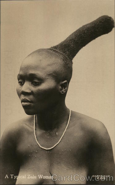 A Typical Zulu Woman Africa