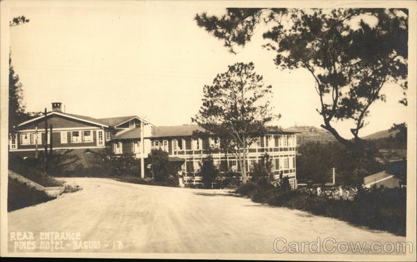 Pines Hotel Baguio Philippines Southeast Asia