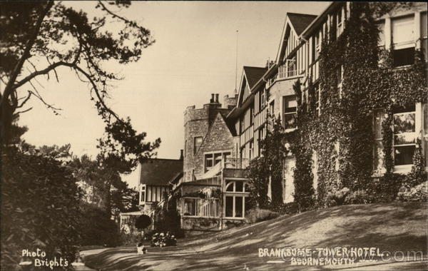 Branksome Tower Hotel Dorset England Bright's