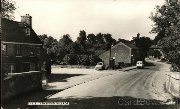 View of Village Lemsford England