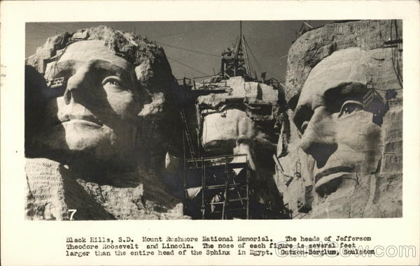 Mount Rushmore National Memorial Black Hills South Dakota