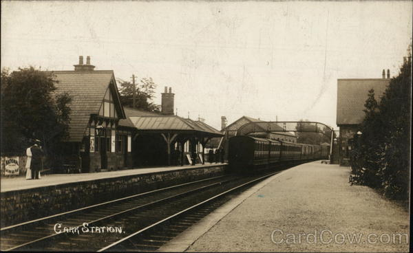 A view of Carr Railway Station - Lancashire Union Railway UK