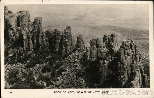 Rock of Ages Graaff Reinett South Africa