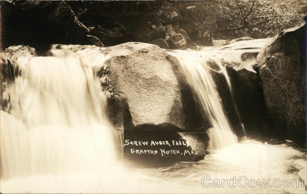 Screw Auger Falls, Grafton Notch North Oxford Maine